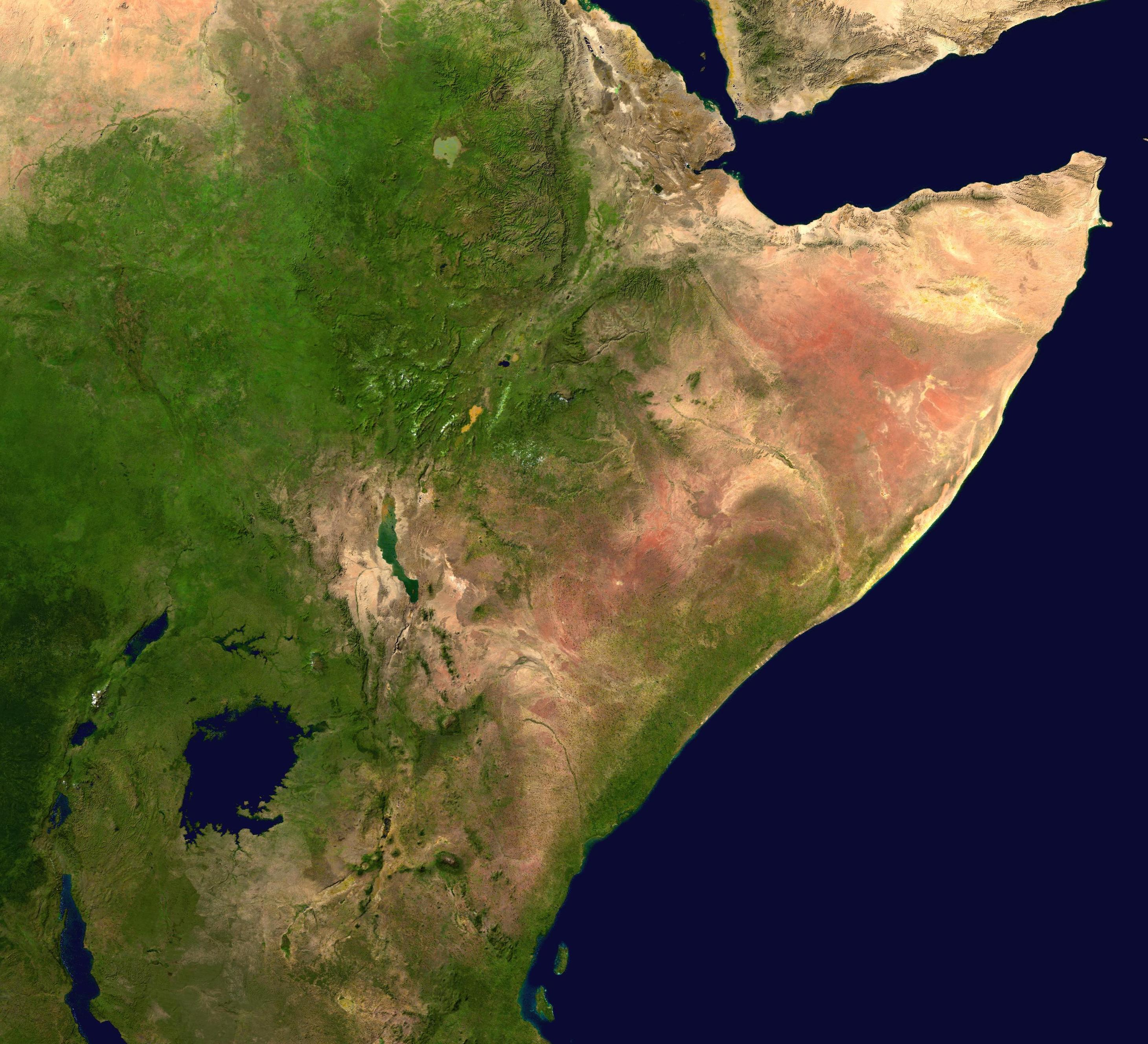 Horn of africa map where is it located countries facts the horn of africa might be the most conspicuous segment on the african map but only a little is known about the region most people in fact gumiabroncs Image collections