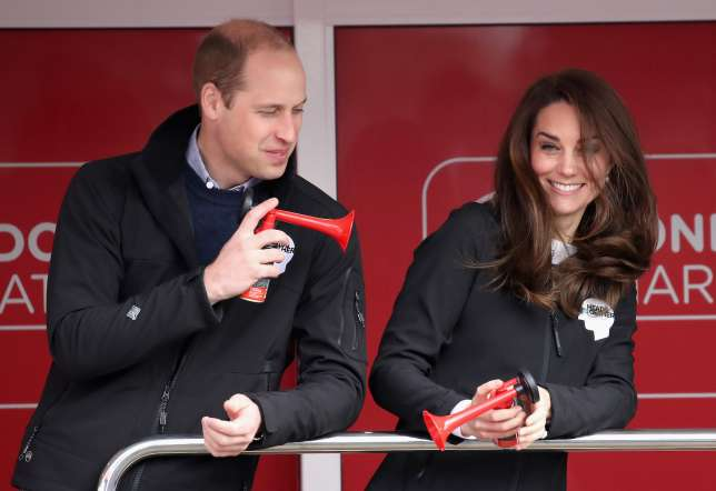 Williams and Kate Middleton